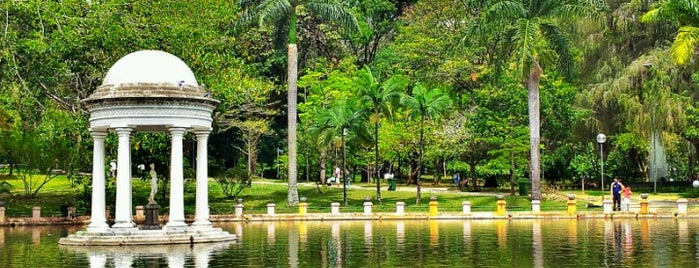 Parque Municipal Américo Renné Giannetti is one of Cartório Rua SP Bolivar.