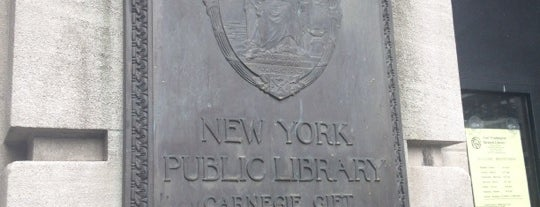 New York Public Library - Fort Washington Library is one of New York Public Libraries.