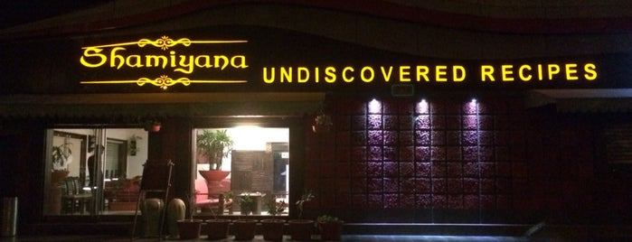 Shamiyana - Undiscovered Recipes is one of Restaurants You Must Visit.