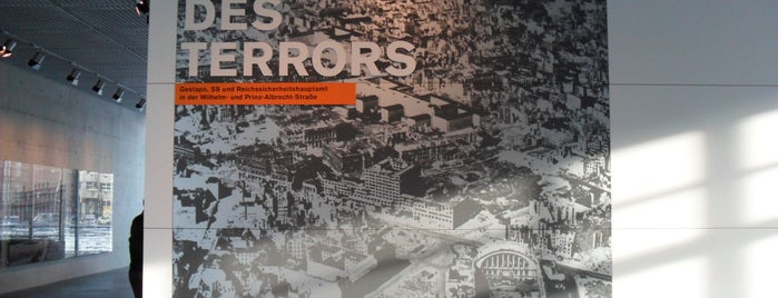 Topographie des Terrors is one of Berlin.