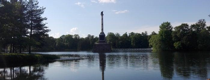 Чесменская колонна is one of Санкт-Петербург.