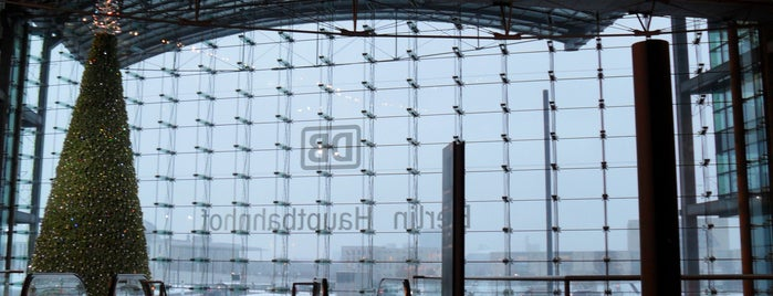 Berlin Hauptbahnhof is one of Berlin.