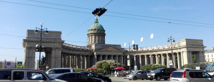 Kazan Square is one of Санкт-Петербург.