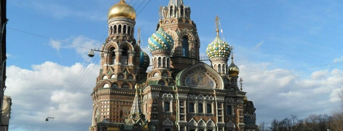 Church of the Savior on the Spilled Blood is one of Санкт-Петербург.