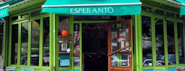 Esperanto is one of manhattan restaurants.