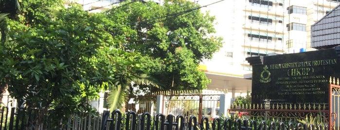HKBP Petojo is one of Distrik 28.