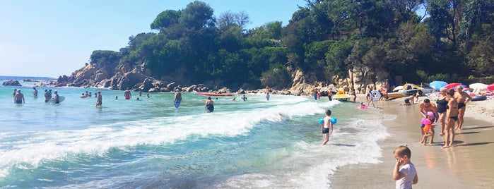 Plage du Ruppione is one of Corsica.