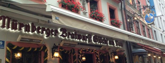 Nürnberger Bratwurst Glöckl am Dom is one of Best of World Edition part 3.