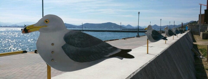 Seagull Parking Lot is one of Art Setouchi & Setouchi Triennale - 瀬戸内国際芸術祭.