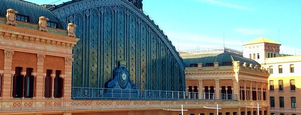 Madrid-Puerta de Atocha Railway Station is one of Habituales.