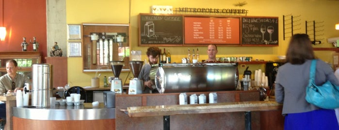 Metropolis Coffee is one of Denver To-Do.