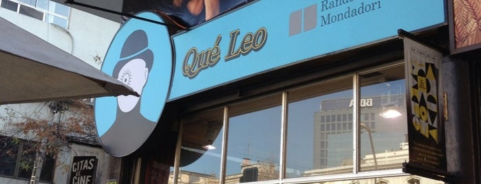 Qué Leo is one of Santiago City.