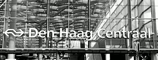 Den Haag Centraal Railway Station is one of Public transport NL.