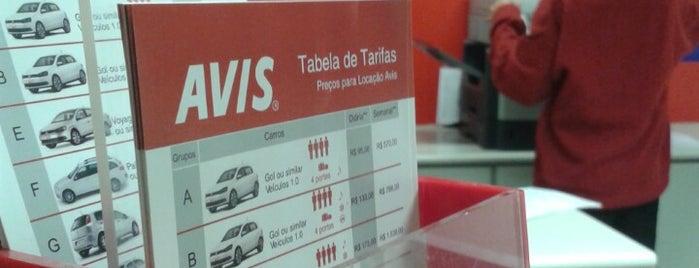 Avis is one of Aeroporto de Guarulhos (GRU Airport).