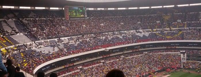 Estadio Azteca is one of Trips / Mexico.