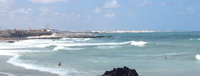 Praia de Areia Preta is one of Viagens.