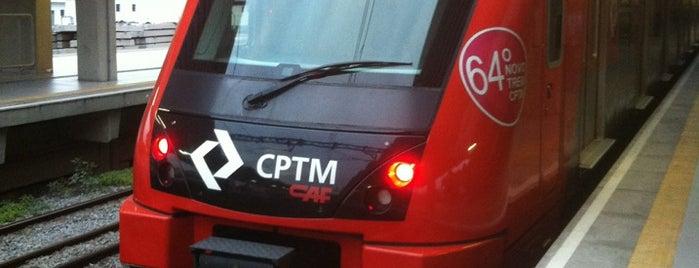 Estação Carapicuíba (CPTM) is one of Transporte.