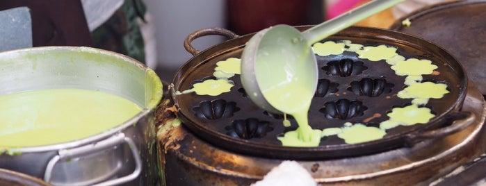 ขนมครกใบเตย is one of ตะลอนชิม.