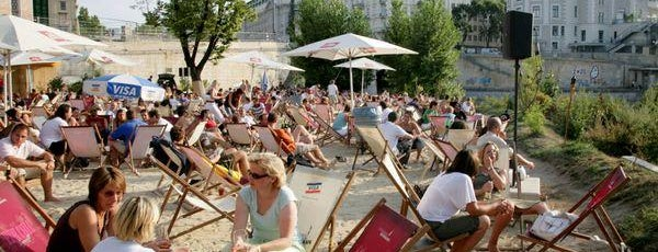 Strandbar Herrmann is one of Vienna's wheelchair accessible restaurants.