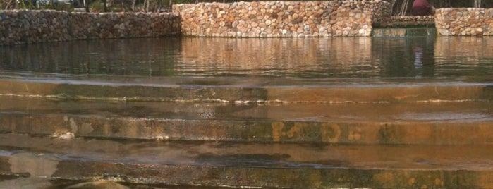 Saline hot spring Khlong Thom is one of มัสยิด, บาลาเซาะฮฺ, สถานที่ละหมาด.