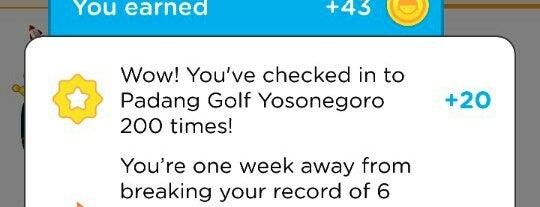 Padang Golf Yosonegoro is one of GTO.