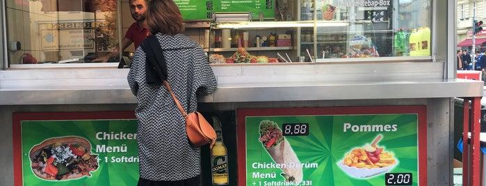 Original Chicken Gemüse Kebab is one of Eat Berlin.