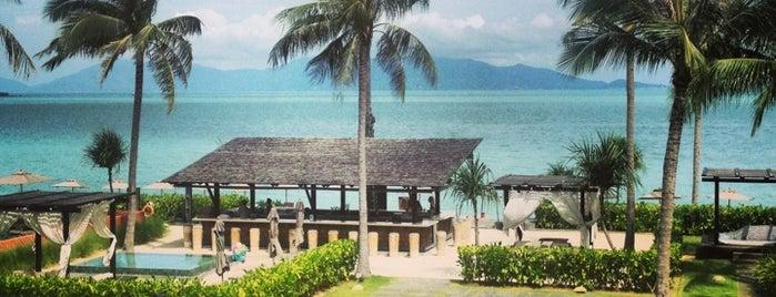 Hansar Samui Resort & Spa is one of Ko Samui Paradise = Peter's Fav's.