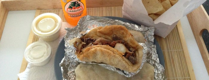 Bell Street Burritos is one of Atlanta's 24 Most Iconic Dishes.