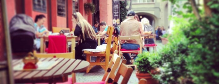 Domeček Cafe is one of Café.