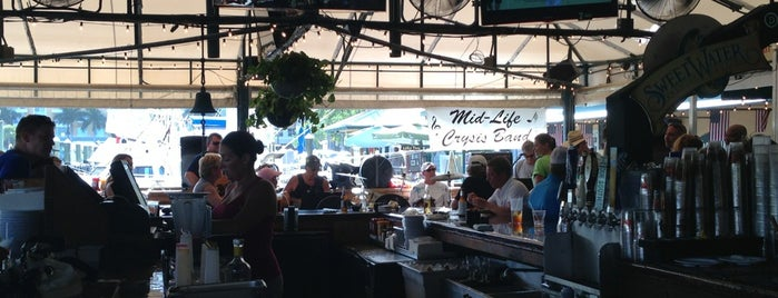 Two Georges Waterfront Grille is one of Ft Lauderdale to Stuart FL.