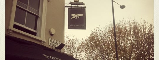 The Tollington is one of London Pubs - Ambrosia.