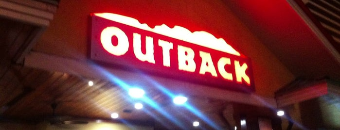 Outback Steakhouse is one of Restaurante.