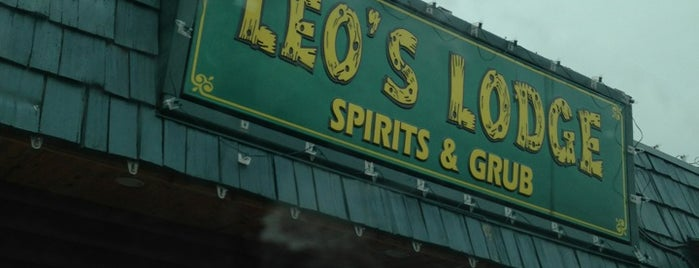 Leo's Lodge is one of Lansing.