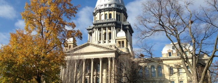 Illinois State Capitol is one of State Capitols.