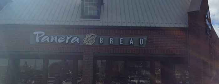 Panera Bread is one of Pinpointed locations.