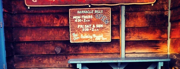 Barnacle Bill's is one of Rob's Food Spots.