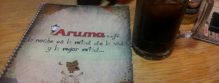 Aruma Cafe is one of Restaurantes.