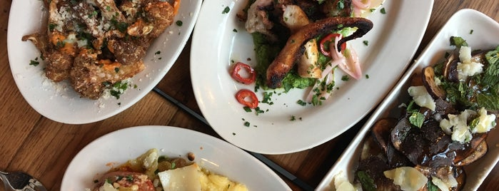 Amis Trattoria is one of CT Food to Try (casual).