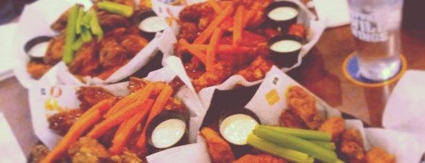 Buffalo Wild Wings is one of 20 Favorite Restaurants On LI.