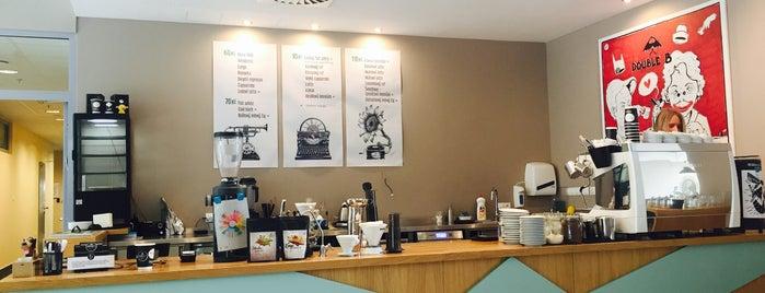 Double B Coffee & Tea is one of Kavárny.