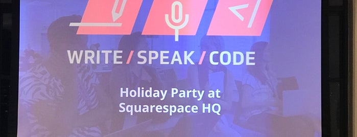 Squarespace HQ is one of NY Misc.
