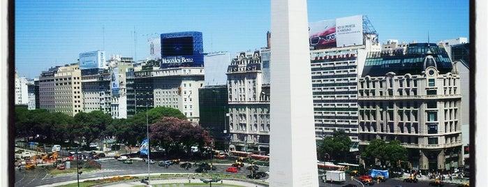 Obelisco - Plaza de la República is one of @Buenos Aires.
