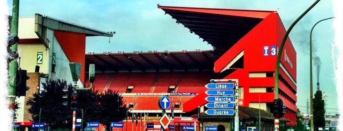 Stade Maurice Dufrasne is one of Jupiler Pro League and Belgacom League - 2013-2014.