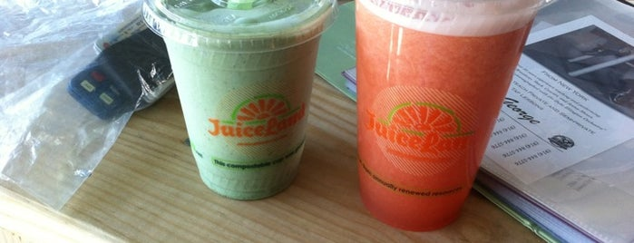JuiceLand is one of Where I Juice Up.