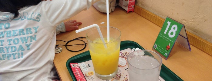 モスバーガー 富士見ヶ丘店 is one of MOS BURGER in Tokyo.