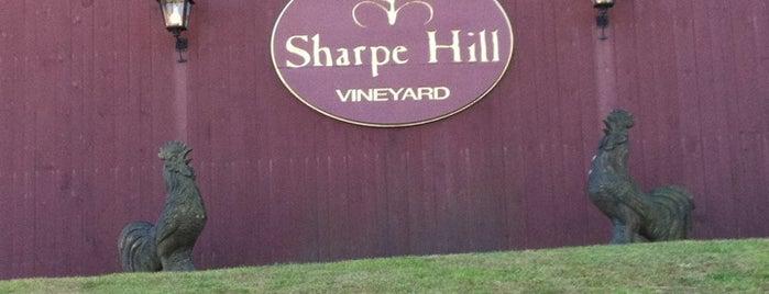 Sharpe Hill Vineyard is one of Connecticut Farm Wineries 2012 Passport.