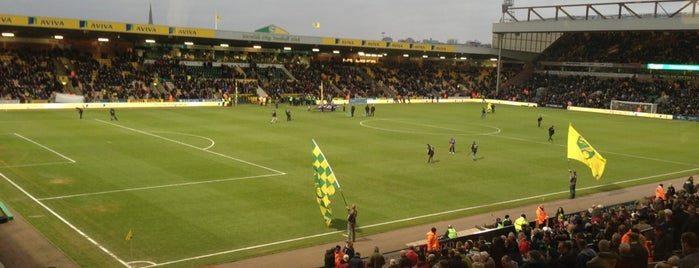 Carrow Road is one of Norwich City FC Venues.