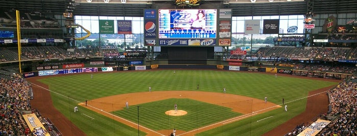 Miller Park is one of Guide to My Milwaukee's best spots.