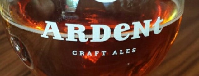 Ardent Craft Ales Brewery is one of Drink!.