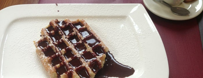 Maison Dandoy - Tearoom & Waffle is one of BXL to do.